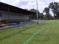 Futbalové ihrisko, obec Vysoká pri Morave 2018