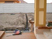Rodinný dom, Dunajská Streda - stavebné práce, 2013